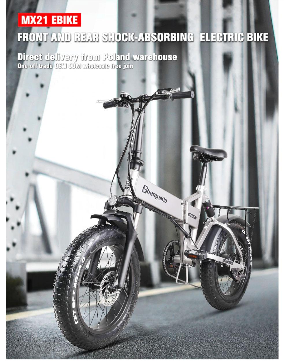 Shengmilo Electric Bike battery MX01 MX02s MX20 MX21