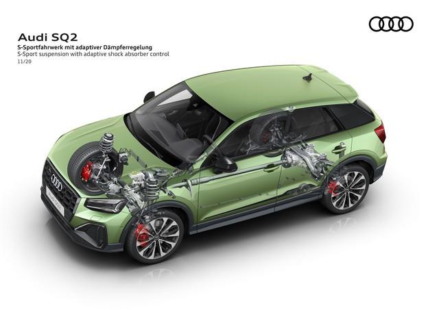 Voiture de sport compacte d'exception : Audi donne à l'Audi SQ2 un design encore plus abouti A208397-medium