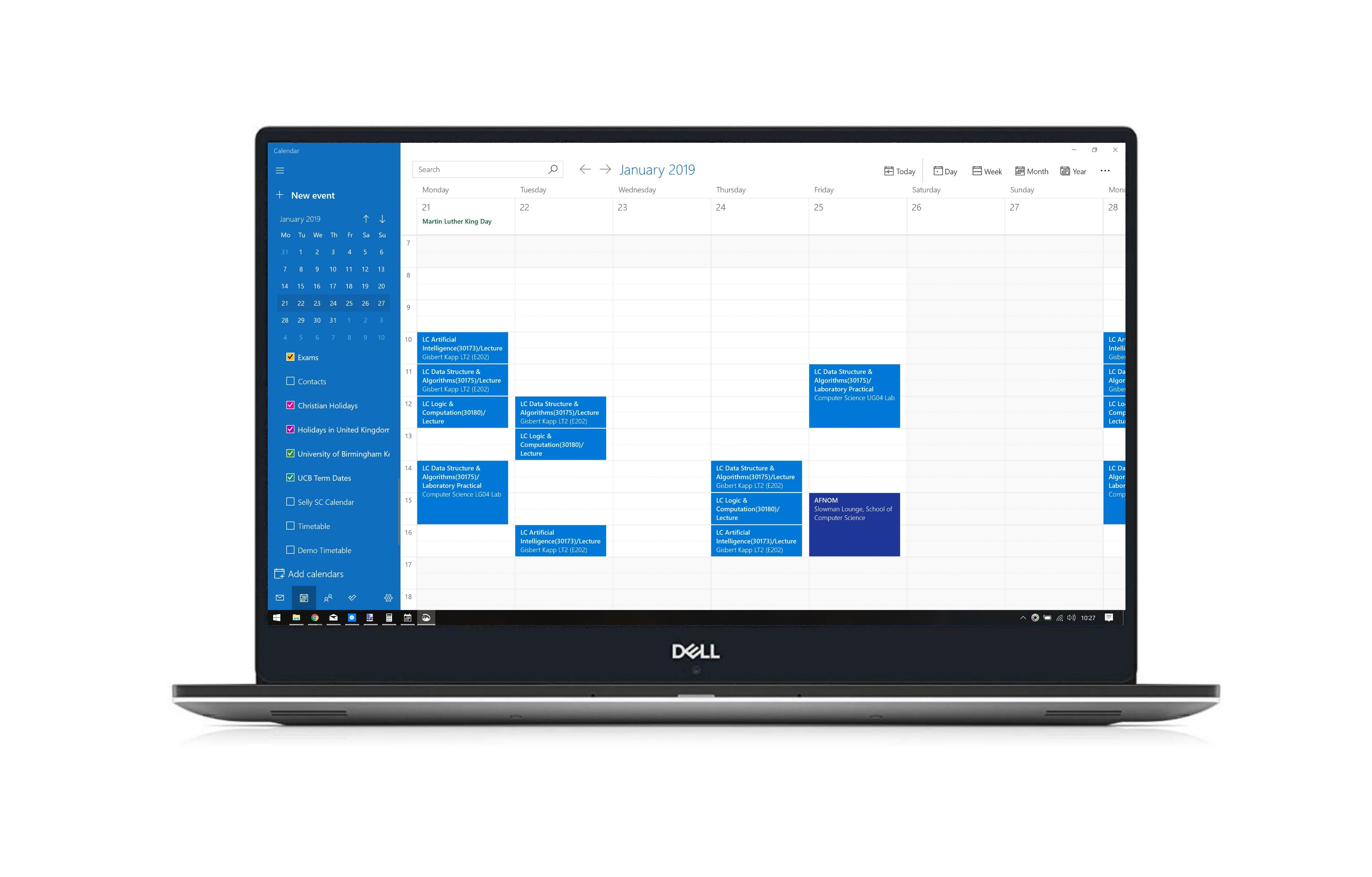 Dell XPS screenshot