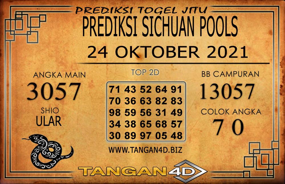 PREDIKSI TOGEL SICHUAN TANGAN4D 24 OKTOBER 2021