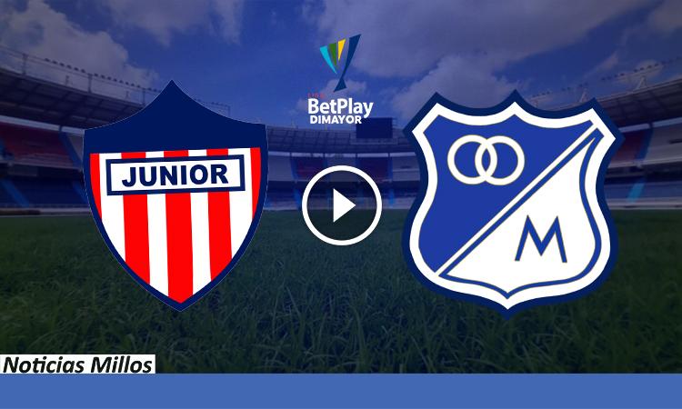 Junior vs Millonarios