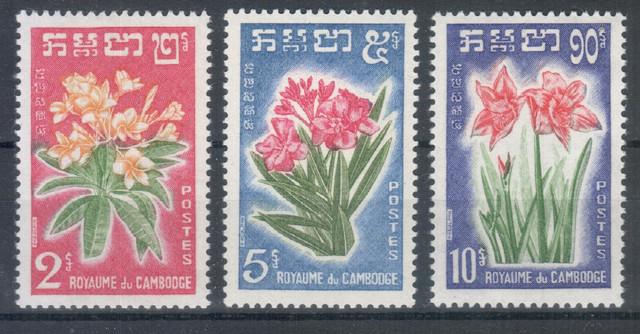 Cambodge Fleurs