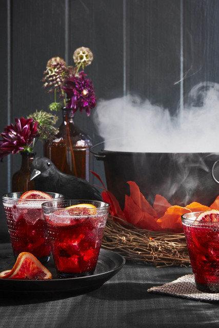 Pomegranate-Rum-Punch