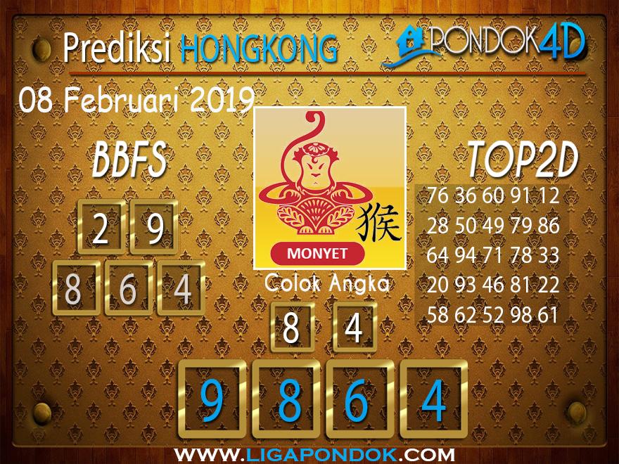 Prediksi Togel HONGKONG PONDOK4D 08 FEBRUARI 2019