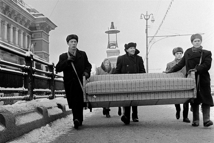 Жизнь СССР в фотографиях Юрия Абрамочкина 28