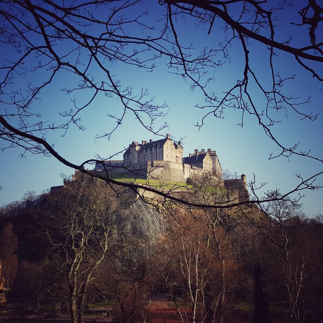 An image of Edinburgh Castle.
