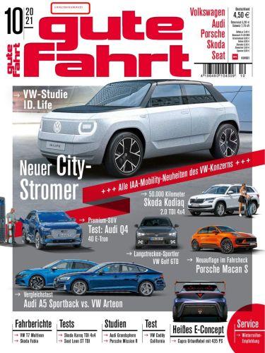 Cover: Gute Fahrt Automagazin No 10 Oktober 2021