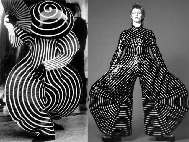 INSPIRATION-Bauhaus-ballet-costumes-from-1921-David-Bowie-s-Ziggy-Stardust-jumpsuit-1973-1