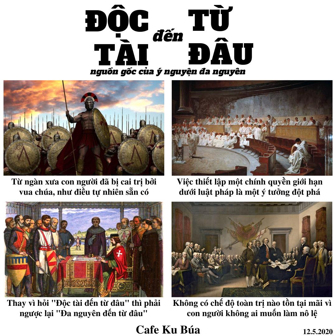 ĐỘC TÀI ĐẾN TỪ ĐÂU – NGUỒN GỐC CỦA Ý NGUYỆN ĐA NGUYÊN