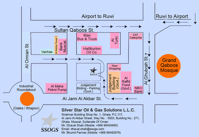 SSOGS Location Map