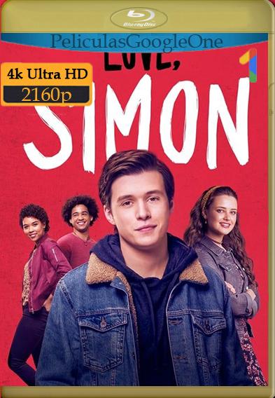 Yo Soy Simón (Love, Simon) (2018) [4K UHD [HDR]] [Latino-Inglés] [GoogleDrive] – Wolf Levine