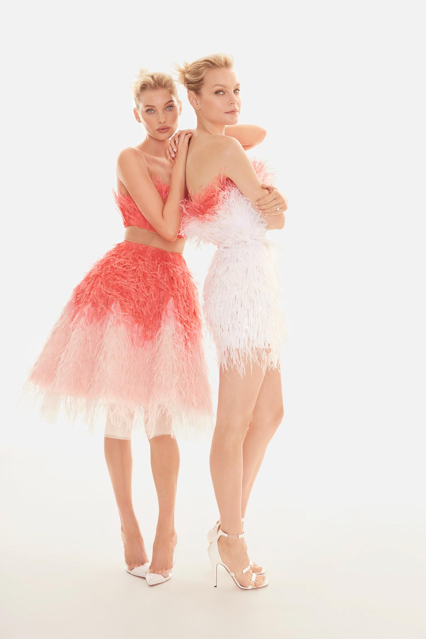 Elsa Hosk & Jessica Stam