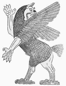 Pássaro Anzu