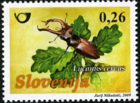 Slovenia stamps KUKCI-1