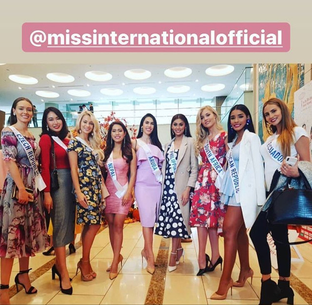 ***Road to Miss International 2019- OFFICIAL COVERAGE  (12 November)*** - Official photos p.11 - Page 4 3