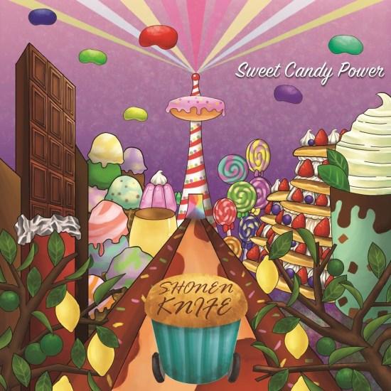 [Album] Shonen Knife – Sweet Candy Power