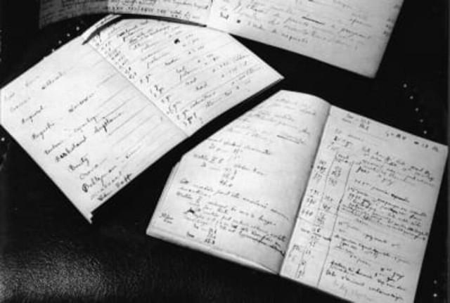 блокноты Марии Кюри