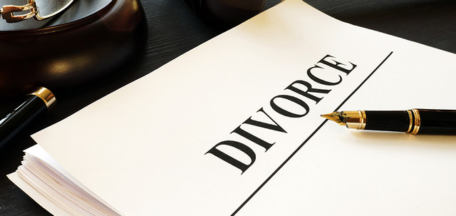 Divorce-documents-in-a-court-Separation-and-alimony