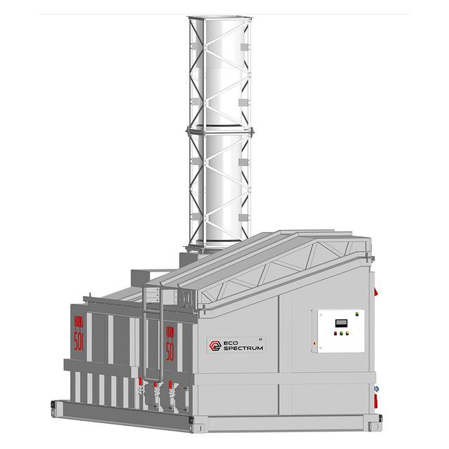 Инсинератор HURIKAN (УРАГАН) 500 - Автоматизация процессов эксплуатации