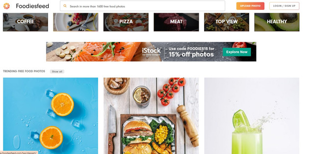 Foodiesfeed - 12 Best Free-Stock Photo Sites - Hotcopy