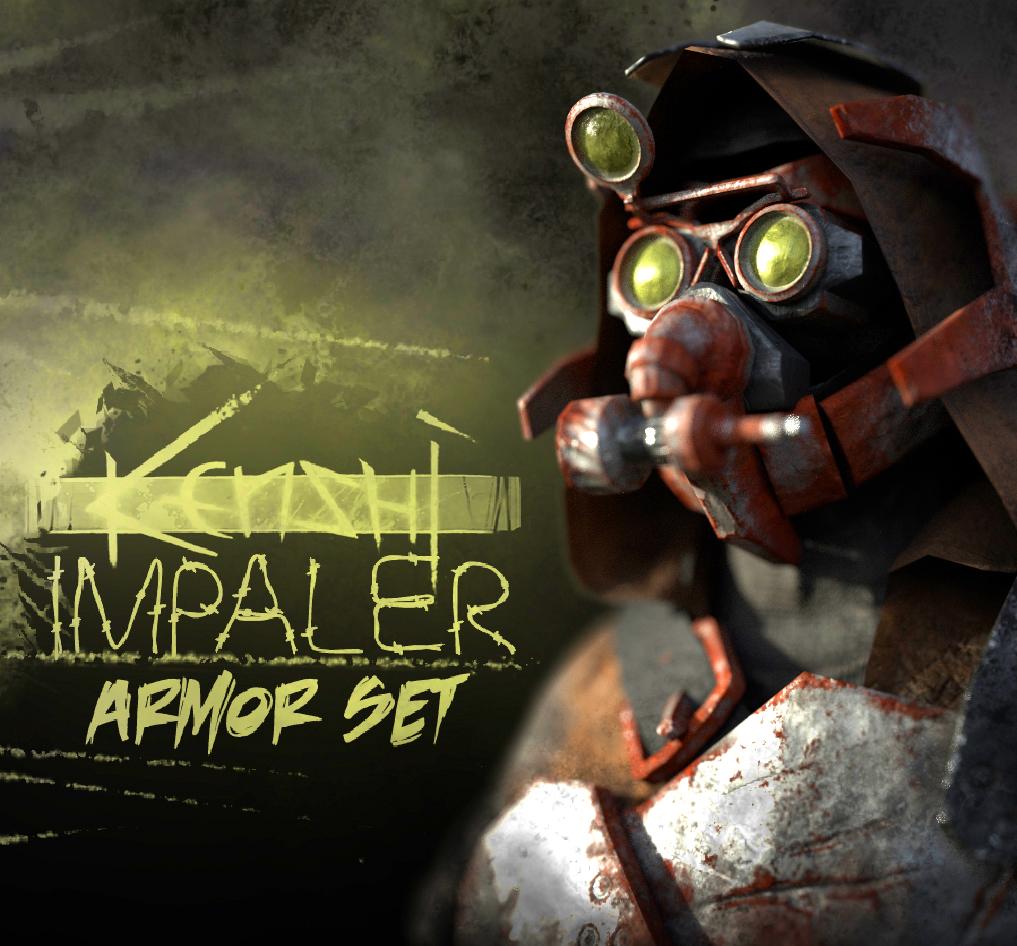 Impaler Armor Set / Набор доспехов импалера!