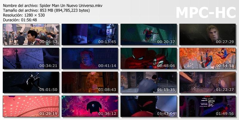Spider Man: Un Nuevo Universo Capturas