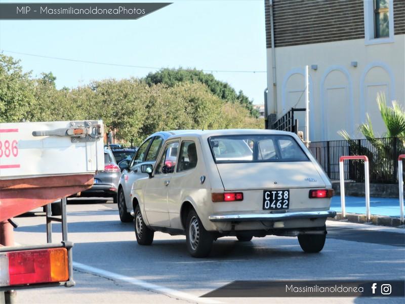 avvistamenti auto storiche - Pagina 2 Fiat-127-900-46cv-75-CT380462