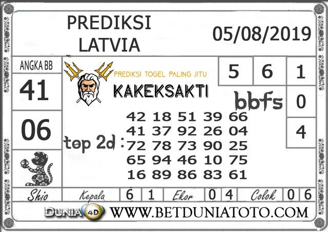 "Prediksi Togel ""LATVIA"" DUNIA4D 06 AGUSTUS 2019"