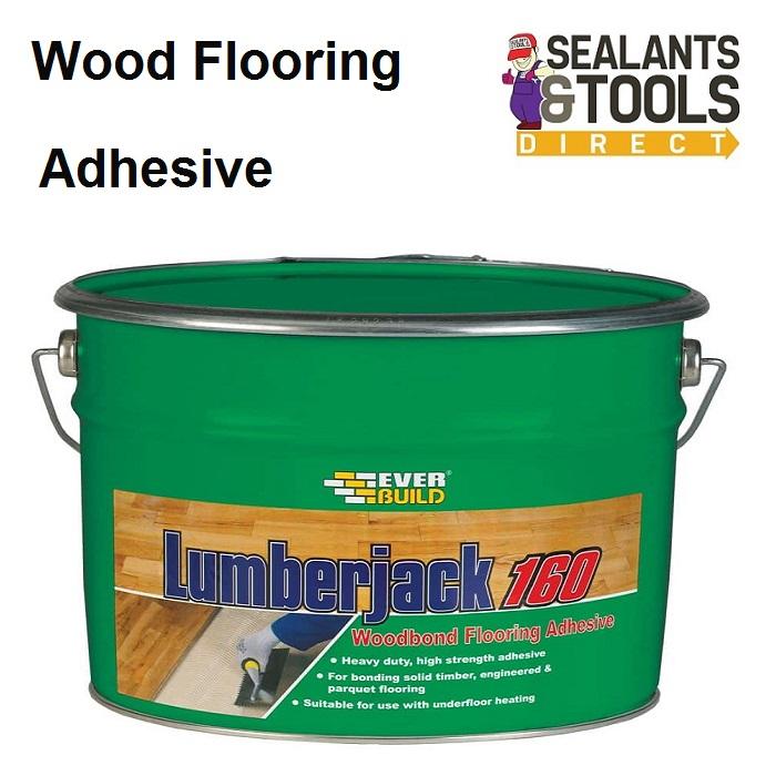 Everbuild Lumberjack 160 Wood Flooring Adhesive LJACK16010
