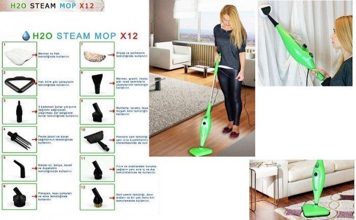 Парочистачка Steam Mop X12 - 12 В 1 Уреда За Съвършена Чистота