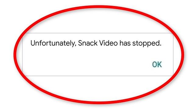 Snack Video Kesalahan Tidak Diketahui Begini Cara Mengatasinya
