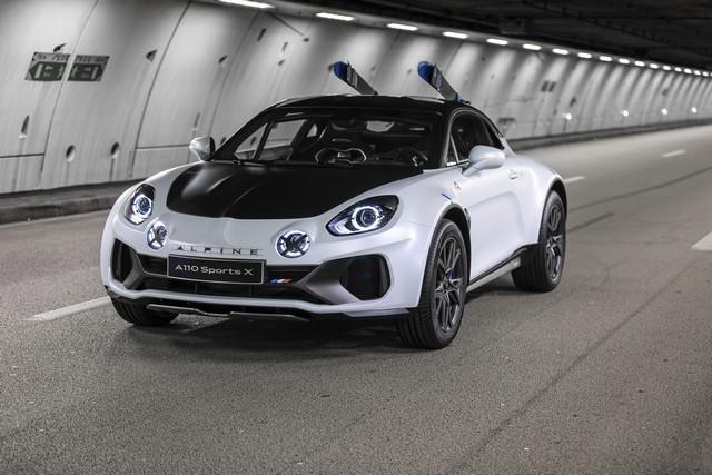 Dossier de presse Alpine - mars 2020 21238143-2020-Show-car-Alpine-A110-Sports-X