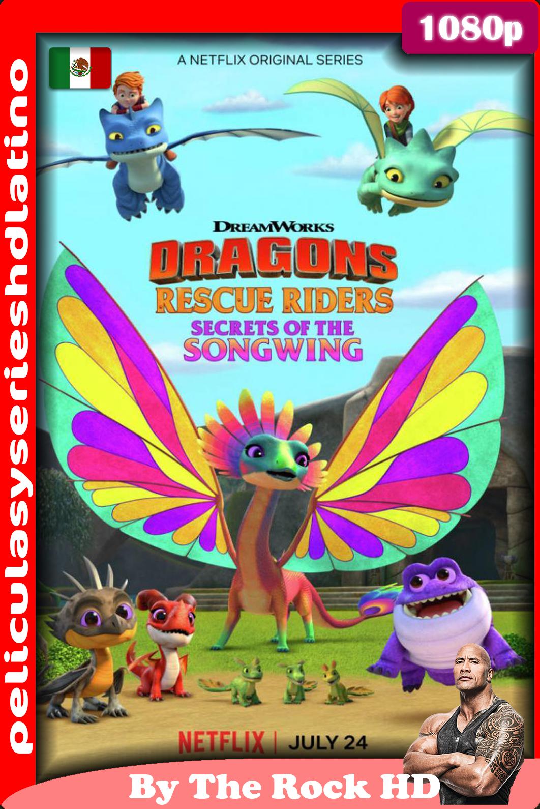 Dragones al rescate: el secreto del ala cantarina, (2020)[1080p] [Latino] [Google Drive]