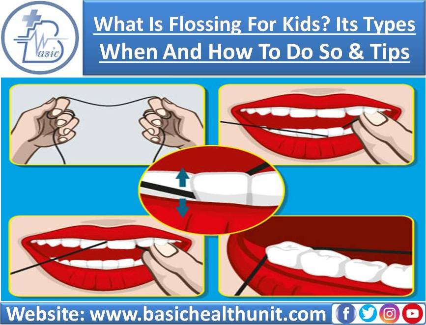 What Is Flossing For Kids? Its Types - When And How To Do So & Tips