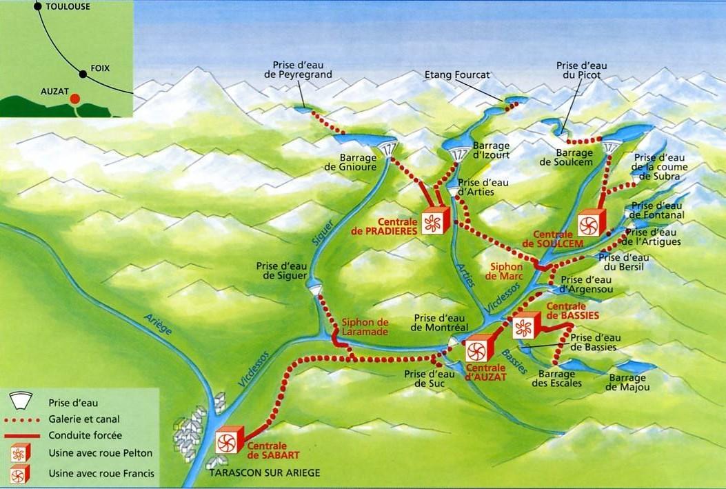 La vallée du Vicdessos