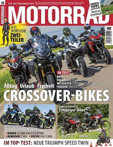 Cover: Motorrad Magazin No 18 vom 20 August 2021