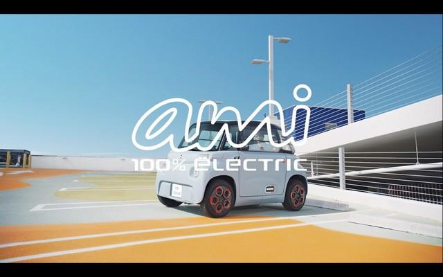 AMI – 100% ËLECTRIC : Citroën Dévoile La Campagne Publicitaire  AMI-4