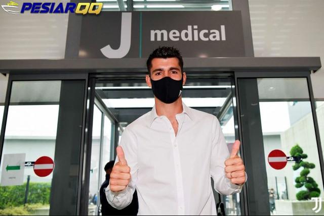Bagi Juventus, Alvaro Morata Bagaikan Anak Emas