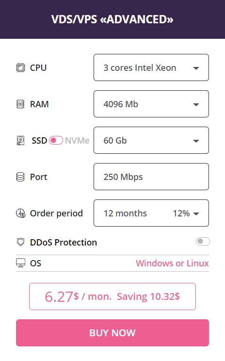 как сделать сервер майнкрафт на хостинге