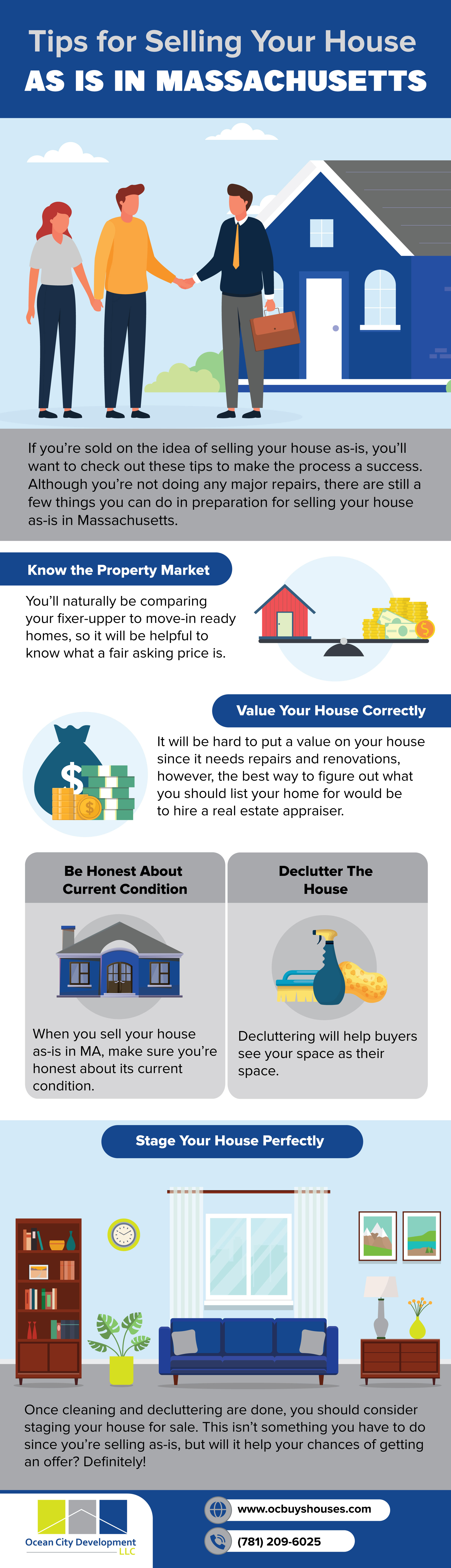 Tips for selling your house as is in Massachusetts