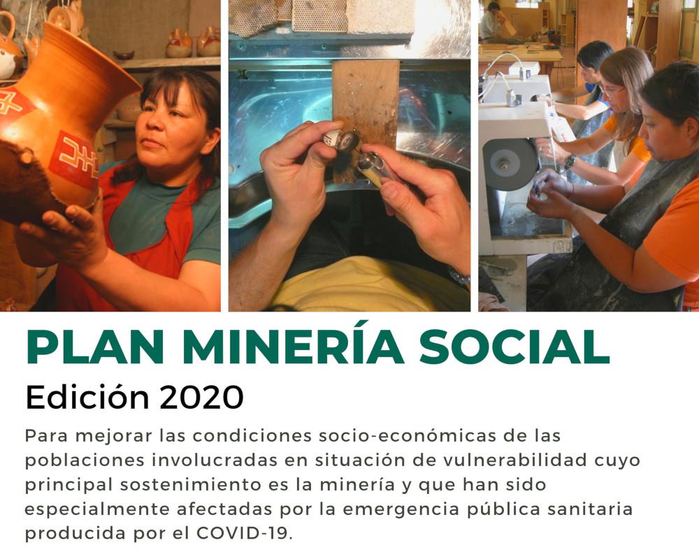 Banner Plan Minería Social