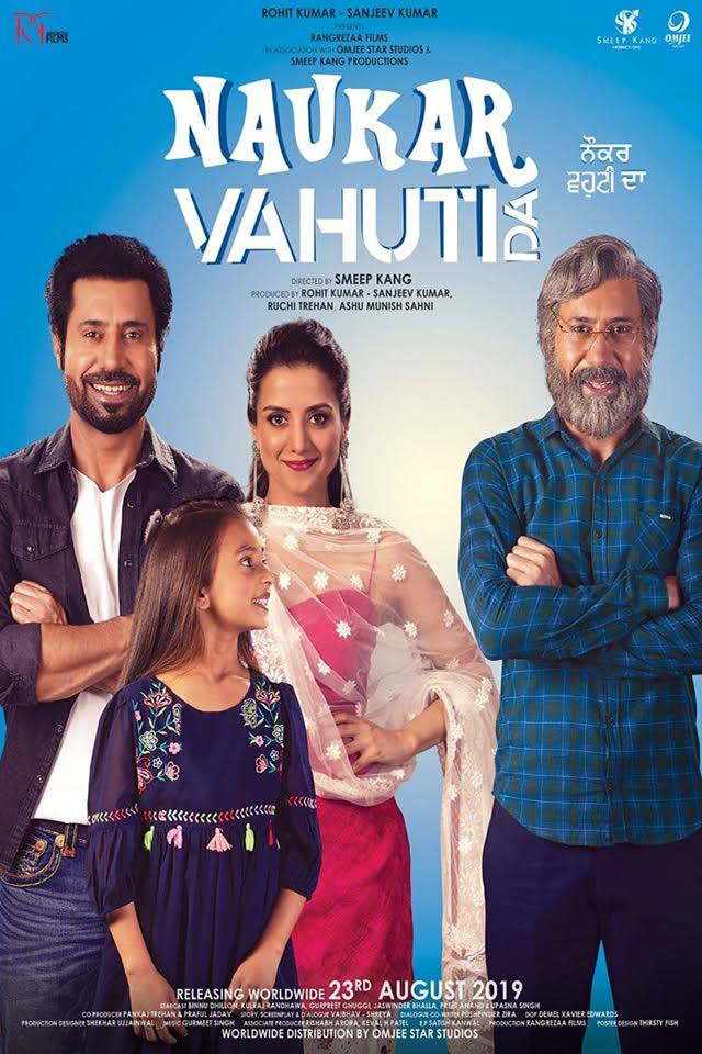 Naukar Vahuti Da 2019 Punjabi HDRip 720p Esusb DL