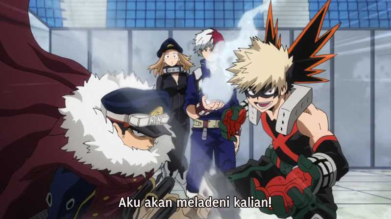 Boku no Hero Academia Season 4 Episode 16 Subtitle Indonesia