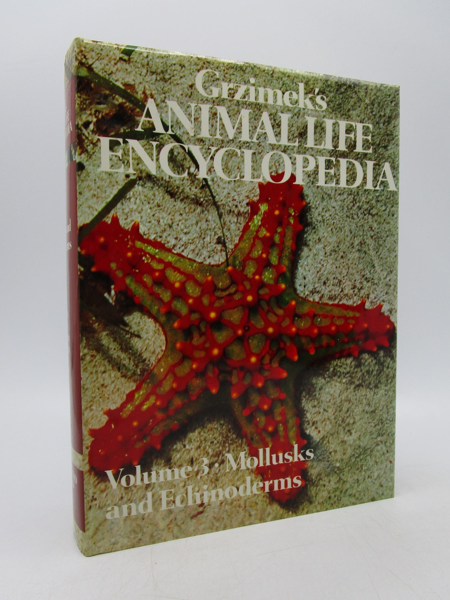 Image for Grzimek's Animal Life Encyclopedia: Volume 3: Mollusks and Echinoderms