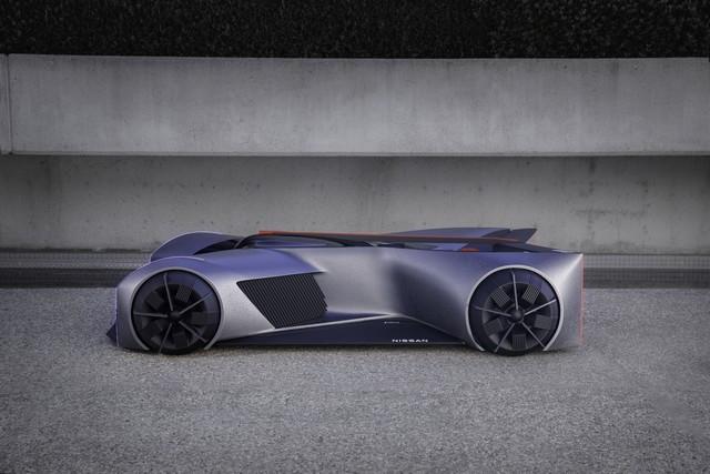 Nissan « GT-R(X) 2050 » : Le Projet D'un Stagiaire Devient Réalité Nis-GTR-2050-01-source