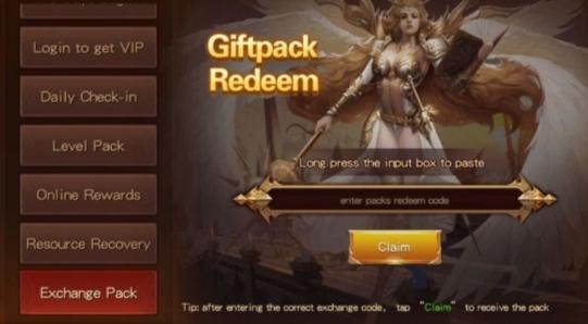 New Gift Code Goddess of War – Origin (GOW Code)