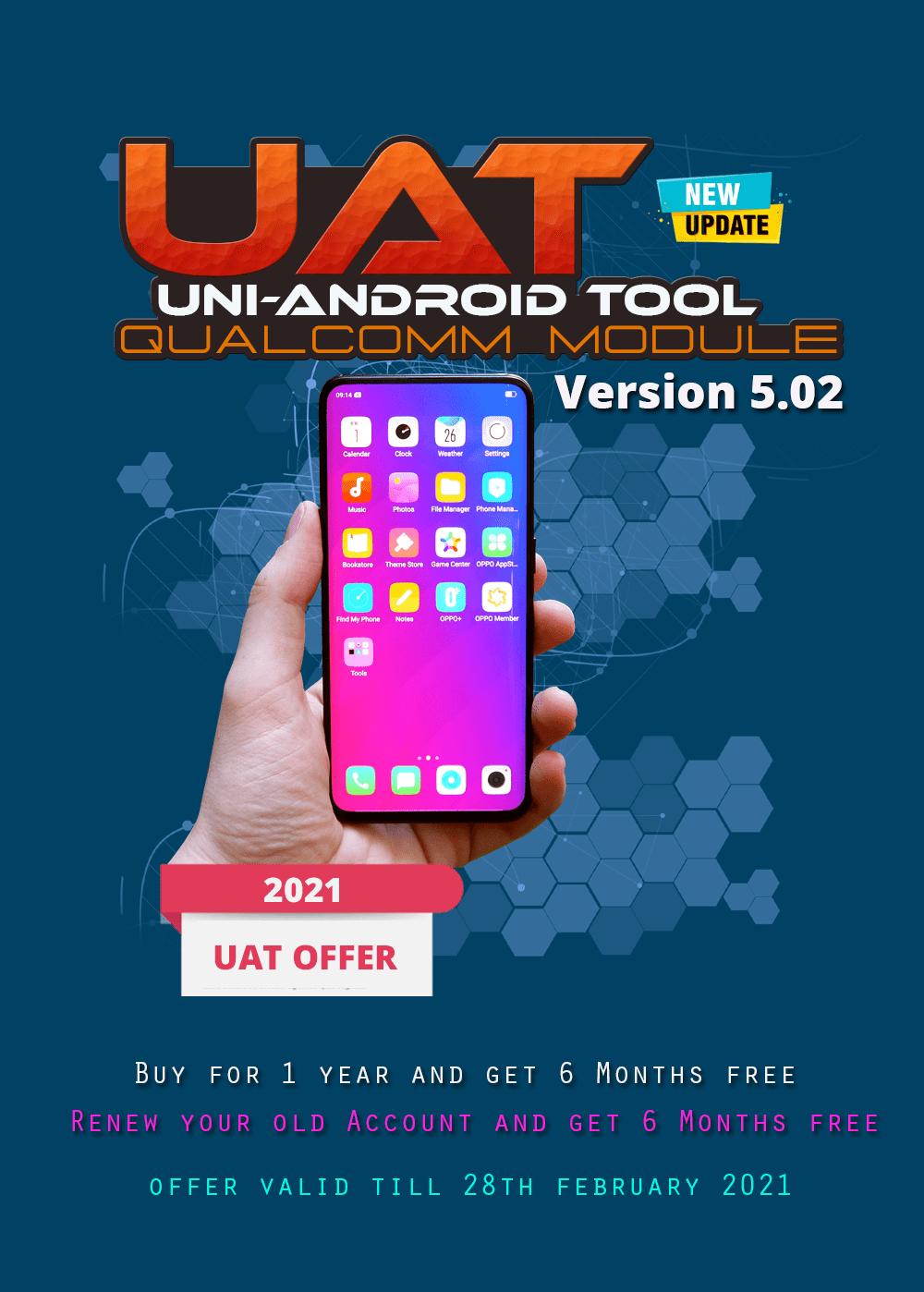 Uni-Android Tool [UAT] Qualcomm Module Ver 5.02 [03.01.2021]