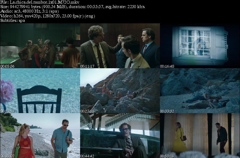 La Chica del Tambor (2018)[Miniserie][MicroHD 720p][Castellano][800MB][6/6][VS]