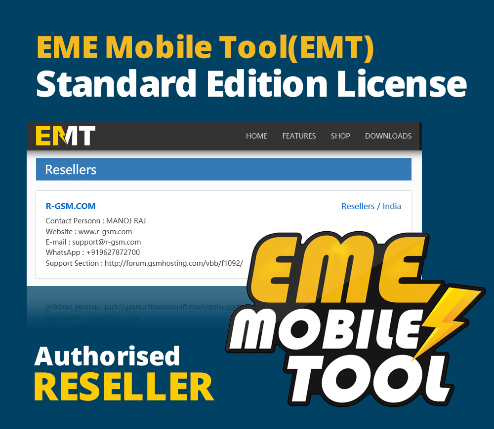EME Mobile Tool Official Reseller | All Activations & Credits | Fast Service