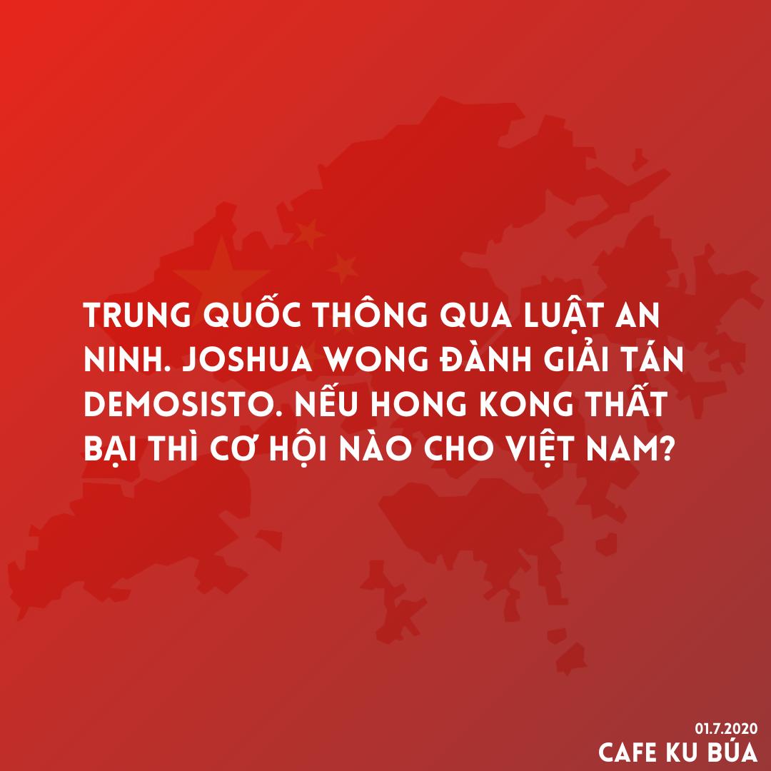 HONG KONG THẤT BẠI THÌ CƠ HỘI NÀO CHO VIỆT NAM